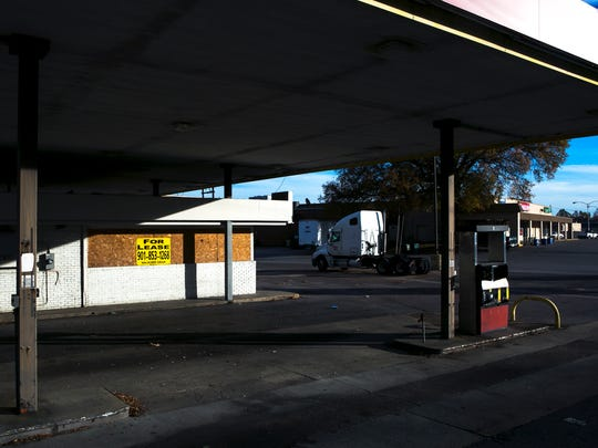 December 2, 2016 - The abandoned gas station Thomas