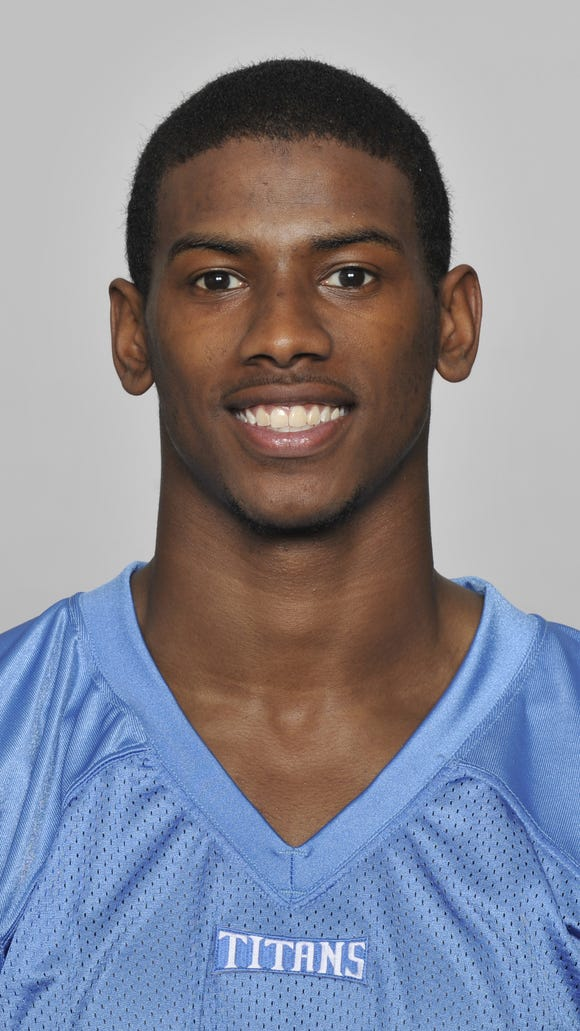 Justin Hunter's future with the Titans could be in jeopardy after his arrest in Virginia Beach, Va.