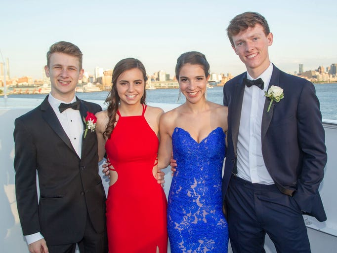 Ridgewood High School celebrated its 2017 prom aboard