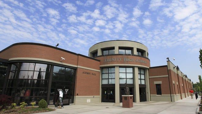 Trinity High School. May 6, 2015