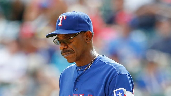Ron Washington was in his eighth season as the Rangers' manager, compiling a 664-611 record.