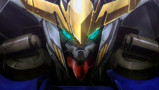 "Mobile Suit Gundam: Iron Blooded-Orphans Episode 2, ""Barbatos."""