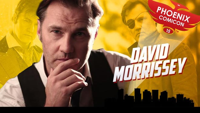 David Morrissey will appear at this year's Phoenix Comicon.
