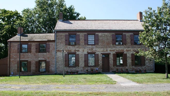 The Van Veghten House, tucked at the edge of an industrial park in the Finderne section, is one of many historic sites in Bridgewater that date to the Revolutionary War. Historians say that George Washington attended a party at the house during the Revolution.