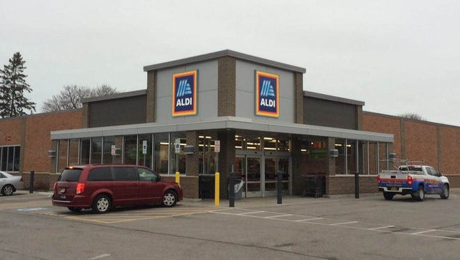 The Aldi store on Hudson Avenue in Irondequoit, near Titus Avenue, reopened Thursday, Feb. 22.