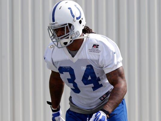 AP Colts Richardson Arrives Football_001
