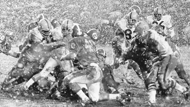 The 1970 Peach Bowl with Arizona State University and North Carolina.