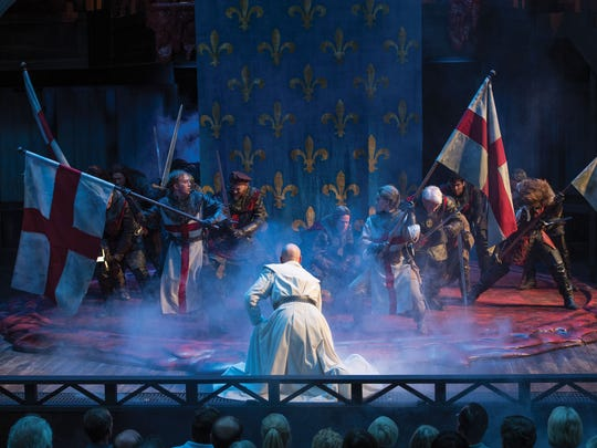 "The Utah Shakespeare Festival's production of ""Henry V"" features some epic battle scenes."
