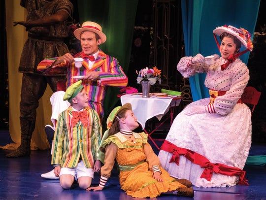 Clockwise from the top left, Eddie Lopez plays Bert