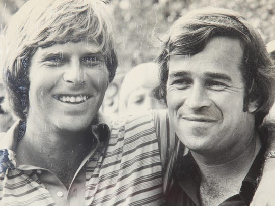 Dave Kempton and Ben Crenshaw share a love of golf history, which has helped made them good friends.