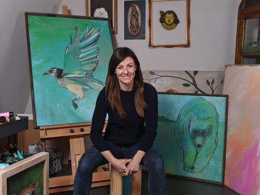 Artist Emily Reid