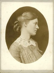 Rachael Robinson Elmer (1878-1919) taken while on a