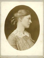 Rachael Robinson Elmer (1878-1919) taken while on a European tour in Venice, 1910 or 1913.