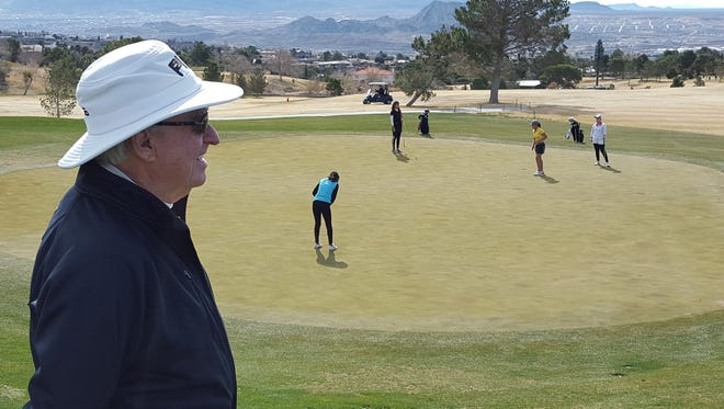 Franklin High School golf coach Tom Hadersbeck created the El Paso Junior Golf Tour, which allows young golfers the opportunity to play when their high school schedules allow them to.