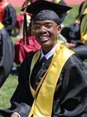 Jaylen Ross, PAAAS valedictorian.