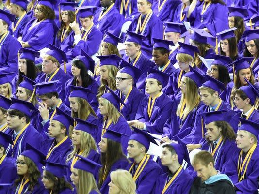 Waukee High School Graduation