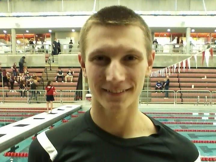 Dexter swimmer Rob Zofchak