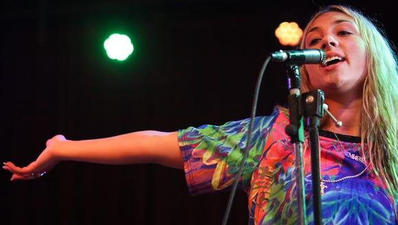 Wilmington-based pop singer Maggie Gabbard  is among