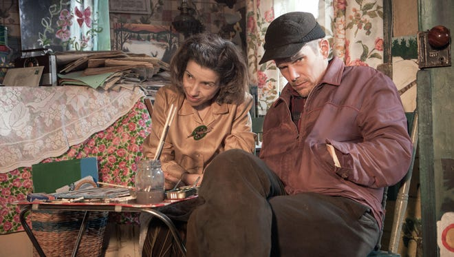 """Sally Hawkins as Maud Lewis and Ethan Hawke as Everett Lewis in a scene from """"Maudie."""""""