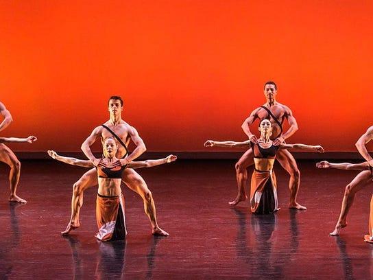 Martha Grahama Dance Brigid Pierce art