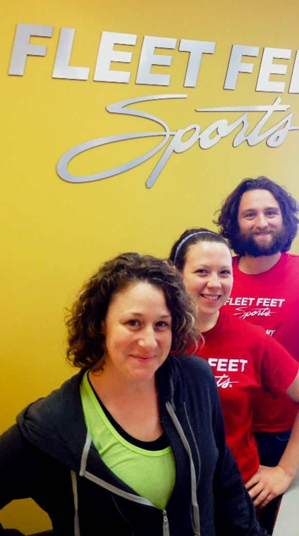Stephanie J. Scott, Erin Albert and Dan Prevost are ready for the Ton of Fun challenge.