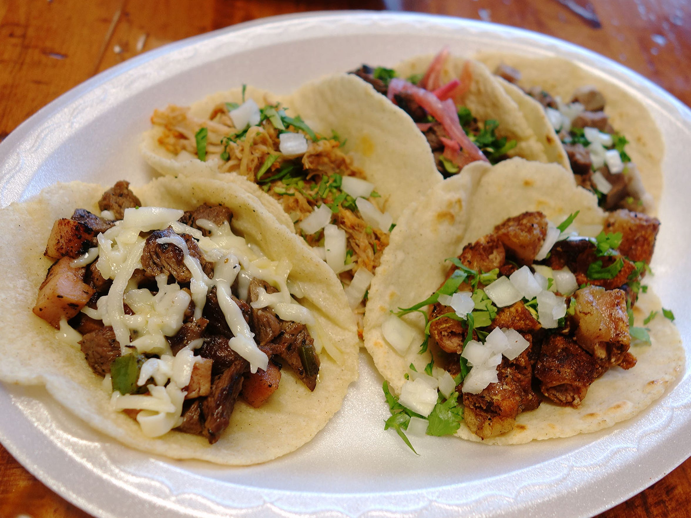 Tacos Chiwas is home to Chihuahuan flour gorditas, excellent frijoles charros and one of the best tripe tacos dining critic Dominic Armato has ever sampled.
