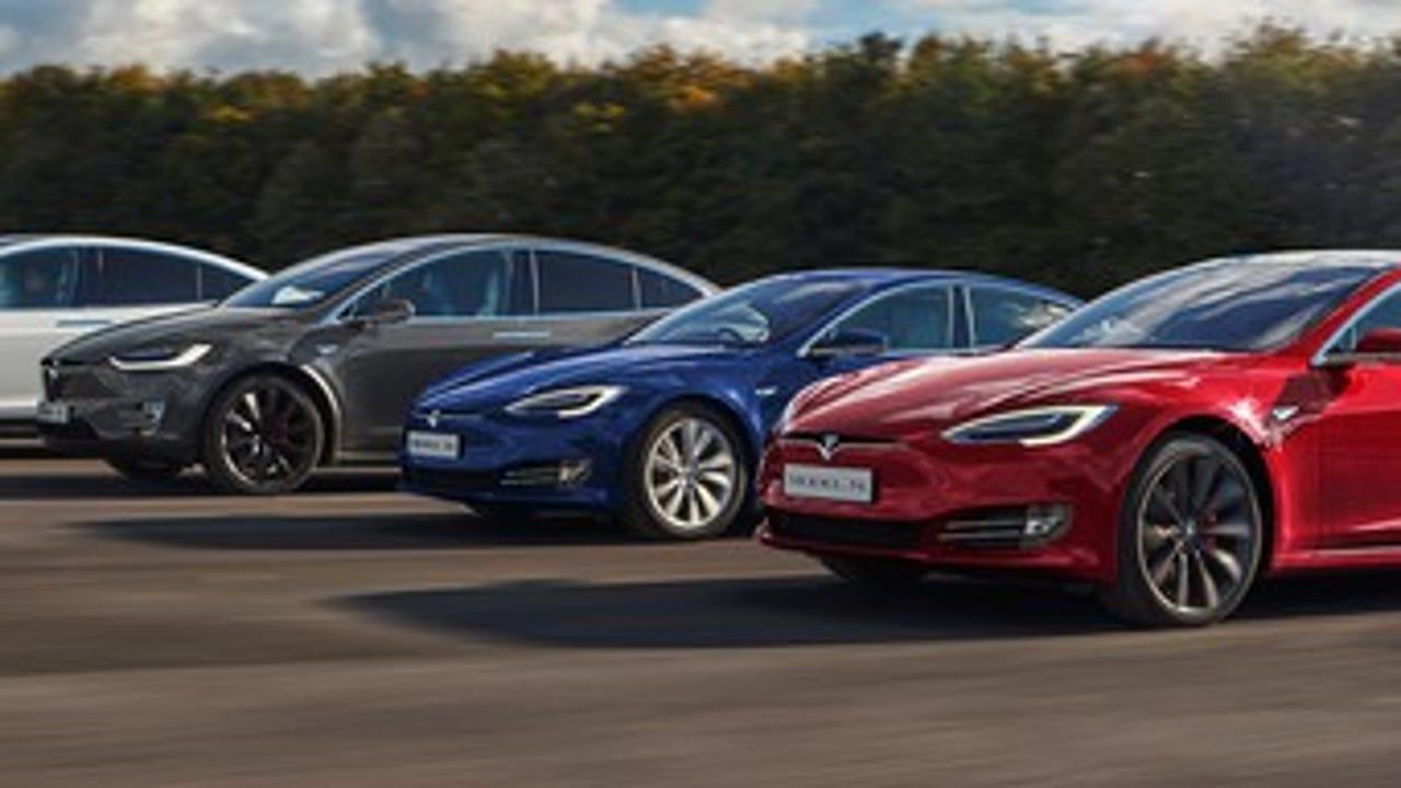 Elon musk tweeted a Tesla Model 3 teaser