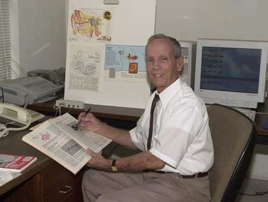 Adam Kissiah, the inventor of the Cochlear Implant
