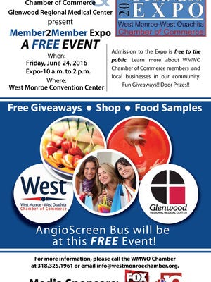 West Monroe-West Ouachita Chamber of Commerce to host Business Expo June 24