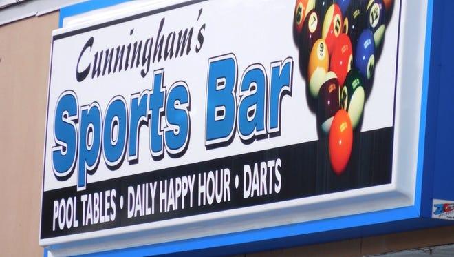 Cunningham's Sports Bar in Vero Beach.