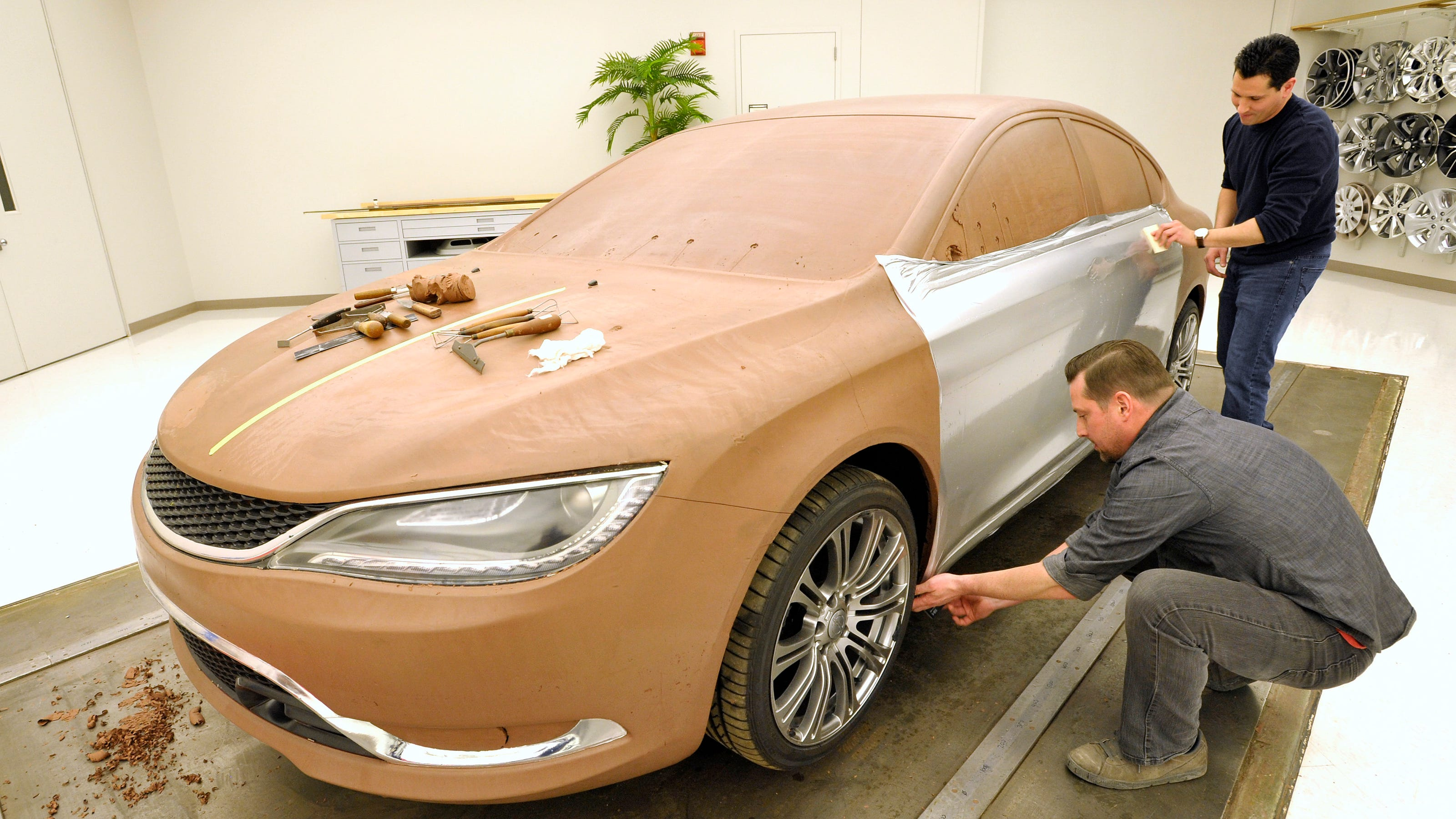 Future Of Auto Design Still In Clay Modelers Hands