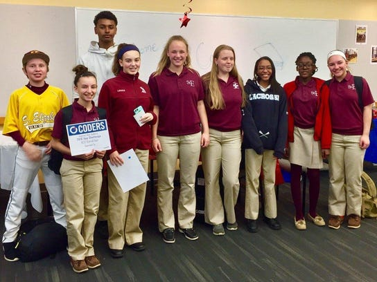 St. E coders participated in the Capital One Coders