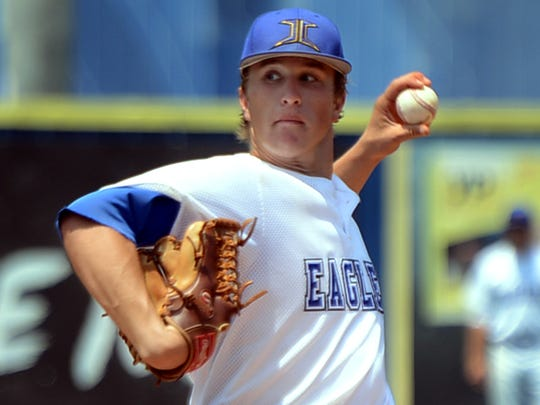 Matt Poteete's pitching and hitting were key assets for Jackson Christian's baseball team, which won the Class A state championship in May.