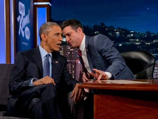 Barack Obama, Jimmy Kimmel