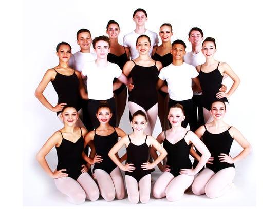 Members of the Vineland Regional Dance Company will