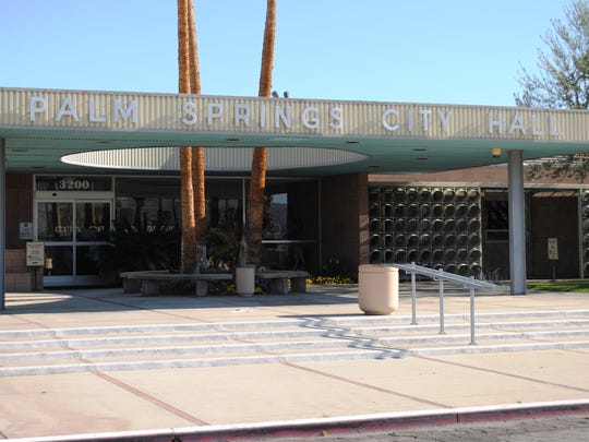 Palm Springs City Hall, 3200 E. Tahquitz Canyon Way.