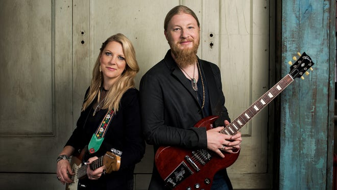 Modern blues legends Susan Tedeschi and Derek Trucks are set to bring the Tedeschi Trucks band to Stephens Auditorium stage on April 21.