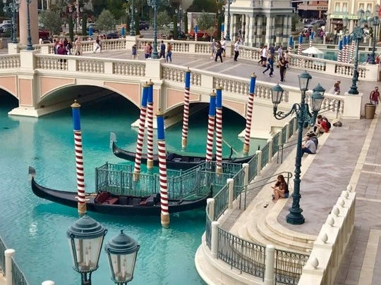 Venice at Vegas - the Venetian Resort and Palazzo provide an Italian-style spree.