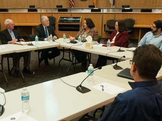 Discussion continues during the second Behavioral Health