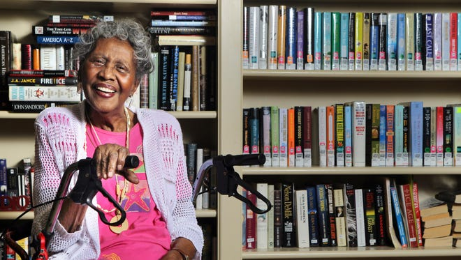 Pearl Wortham Thompson, 92, was denied a library card in Raleigh, N.C. in 1942 because she was African-American. She eventually moved to Cincinnati and was the first African-American teacher at Hyde Park Elementary School. The Wake County, N.C. library system recently honored her and presented her a library card.