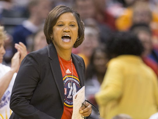 Pokey Chatman's first year in charge of the Fever hasn't