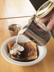 Some people enjoy cream and brown sugar on salt rising