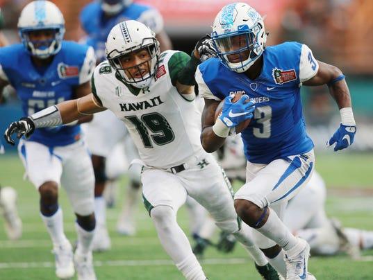 NCAA Football: Hawaii Bowl-Hawaii at Middle Tennessee