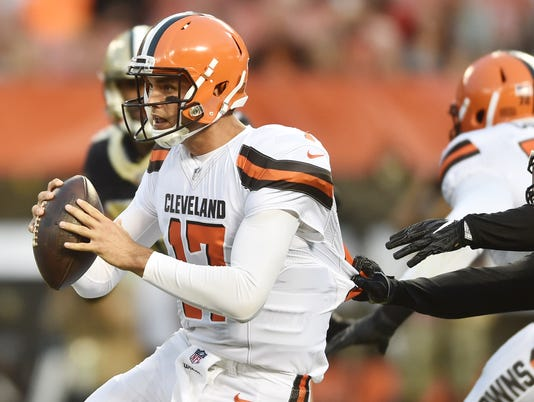 USP NFL: NEW ORLEANS SAINTS AT CLEVELAND BROWNS S FBN CLE NO USA OH