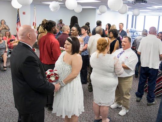 Valentine's Court Wedding Ceremony