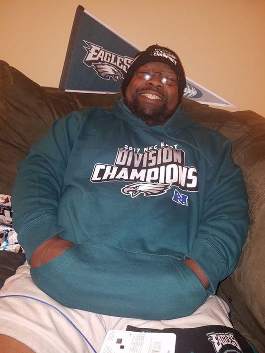 100% authentic 2b615 581d4 Mosher: Former prep star died while watching beloved Eagles ...