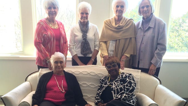 Pictured are some of the Southern Ladies coffee honorees.