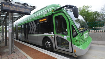 MAX, the city's bus rapid transit system, will operate Sundays during three major festivals in Fort Collins this summer.