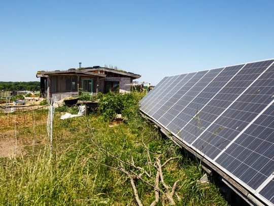 Freeberg and Walch power their home with a solar unit