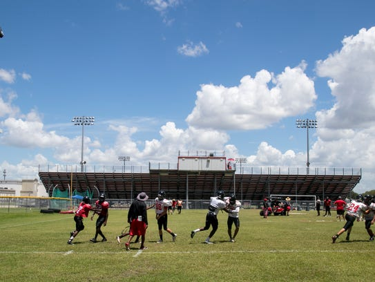 Darfnell Gouin and his South Fort Myers High School